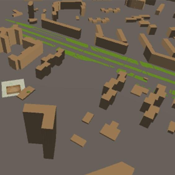 Автоматическая 3D-генерация городской застройки (г. Волгоград)